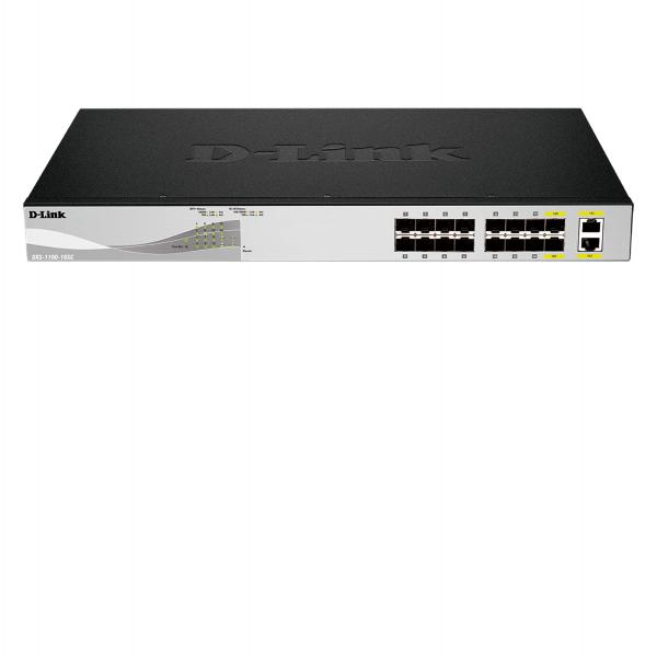 D-Link 14-port 10G SFP+ and 2-port 10GBASE-T/SFP+ combo port